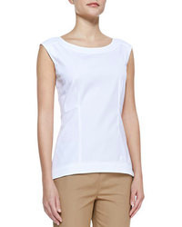 White shorts and a peplum top are great staples that will integrate perfectly within your current looks.