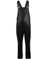 Peto de cuero negro de Givenchy