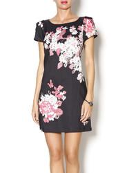 Floral short sleeve dress medium 171276