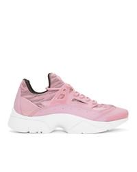 Kenzo Pink Core Tiger Sneakers