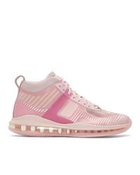 Nike Pink John Elliott Edition Lebron Icon Qs Sneakers