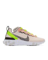 Nike Pink React Elet 55 Premium Sneakers