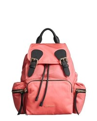 Burberry Medium Rucksack Nylon Backpack