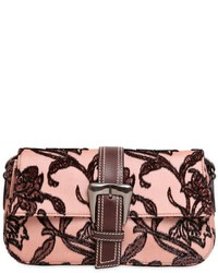 Rochas Large Buckle Fil Coup Shoulder Bag