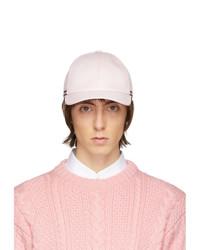 Thom Browne Pink Classic Baseball Cap
