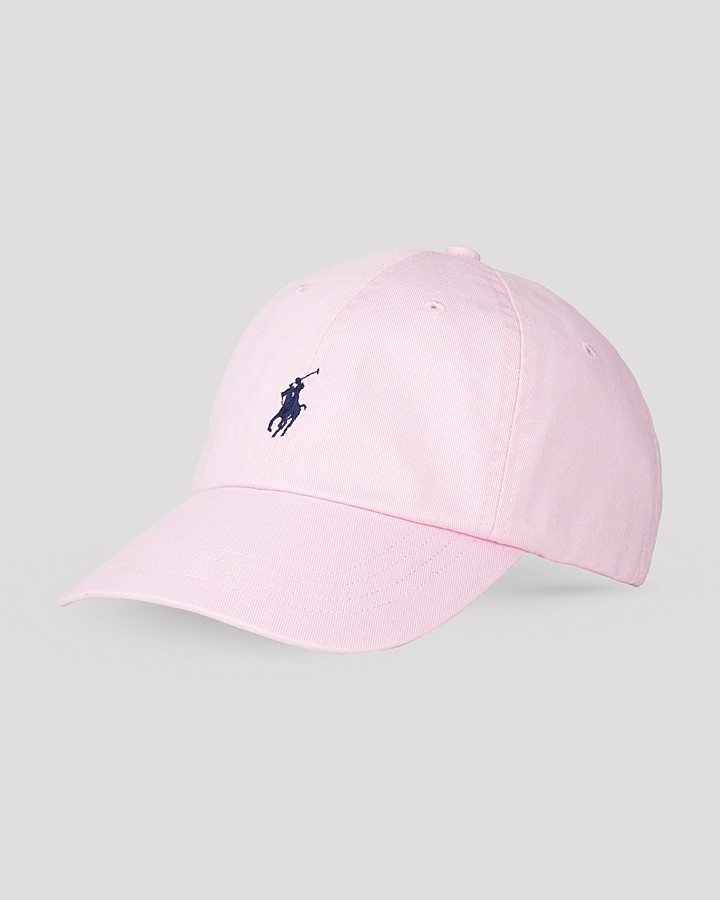 pink baseball cap polo ralph lauren classic chino sports cap where. Black Bedroom Furniture Sets. Home Design Ideas