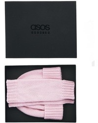 Asos Made In England Premium Cashmere Beanie Palmwarmer Box Gift Set