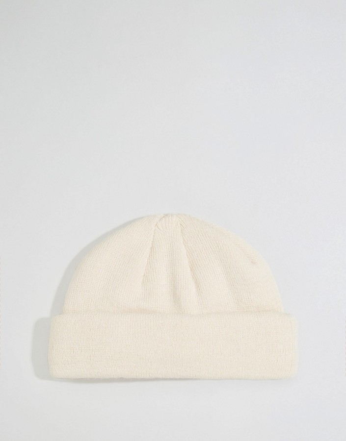 691dbf212ec51 ... Asos Brand Mini Fisherman Beanie In Light Pink ...