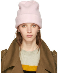 Pink cashmere watchman beanie medium 5363520