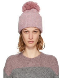 Pink solia pom pom beanie medium 5258450