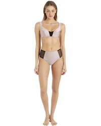 Emiliano Rinaldi High Waisted Lycra Bikini Bottoms