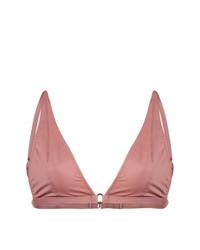 Fleur Du Mal Built Up Triangle Bikini Top