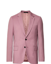 Paul Smith Dusty Pink A Suit To Travel In Soho Slim Fit Wool Suit Jacket