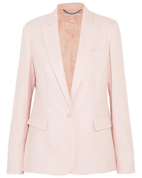 Ingrid wool piqu blazer pastel pink medium 5219772