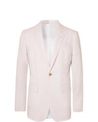 Gabriela Hearst Off White Damien Slim Fit Wool Suit Jacket