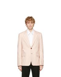 Alexander McQueen Pink Cotton Blazer