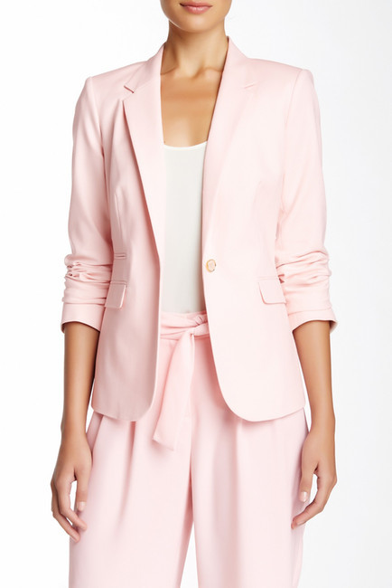 36886ccb78b2 Vince Camuto Single Button Solid Blazer, $150 | Nordstrom Rack ...