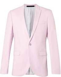 Topman Lightweight Pink Skinny Fit Suit Jacket | Where to buy