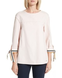 Ted Baker London Lillou Tie Sleeve Top