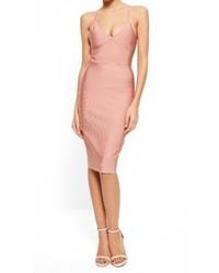Missguided Body Con Midi Dress