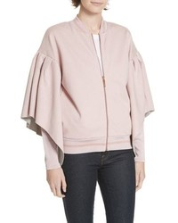Ted Baker London Amithie Cape Sleeve Bomber Jacket