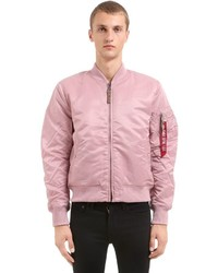 a55ee313b Men's Pink Bomber Jackets by Alpha Industries | Men's Fashion ...
