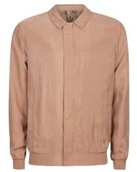 Topman Pink Smart Bomber Jacket