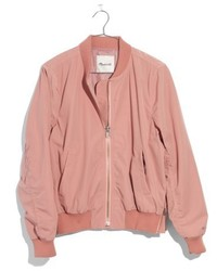 Side zip bomber jacket medium 5035236