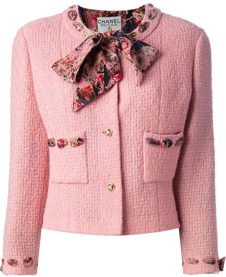 Chanel Vintage Boucle Jacket And Skirt Suit | Where to buy & how ...