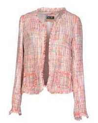 Pink Boucle Jackets for Women | Women's Fashion