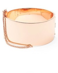 Rebecca Minkoff Cuff With Chain Bracelet