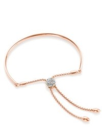 Monica Vinader Fiji Diamond Toggle Bracelet