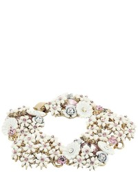 Betsey Johnson Flower Cluster Bracelet Bracelet