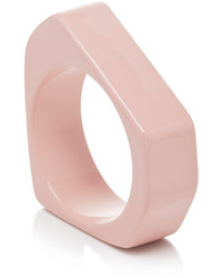 Marni Pink Multifaceted Resin Bangle