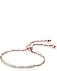 Monica Vinader Stellar Pave Diamond Mini Bar Bracelet