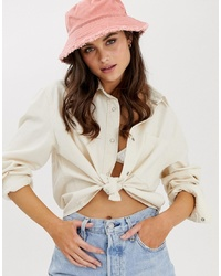 ASOS DESIGN Canvas Bucket Hat