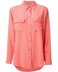 Pink button down blouse original 4299819