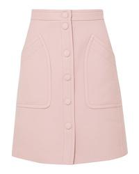 Bottega Veneta Wool Blend Drill Skirt