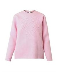 Pink cable sweater original 1336947