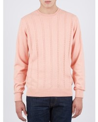 Ben Sherman Cable Knit Cashmere Blend Jumper