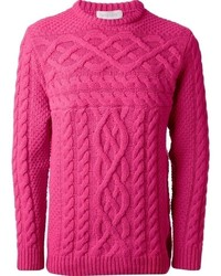 Soulland Cable Knit Sweater