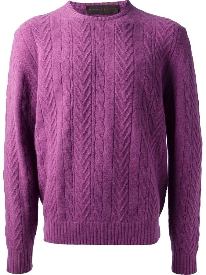 Etro Cable Knit Sweater