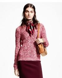 Brooks Brothers Silk Cashmere Crewneck Sweater