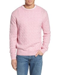 Vineyard Vines Wool Cashmere Cable Knit Sweater