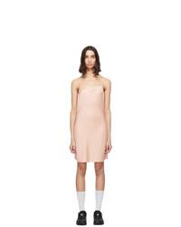 alexanderwang.t Pink Light Wash And Go Mini Cami Dress