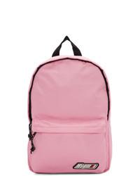 MSGM Pink Logo Backpack
