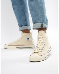 Pink Canvas High Top Sneakers
