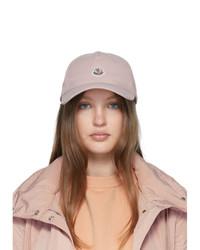 Moncler Pink Baseball Cap