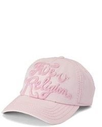 True Religion Tonal 3d Logo Baseball Cap