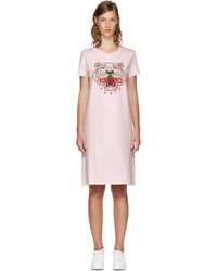 Kenzo Pink Limited Edition Tiger T Shirt Dress